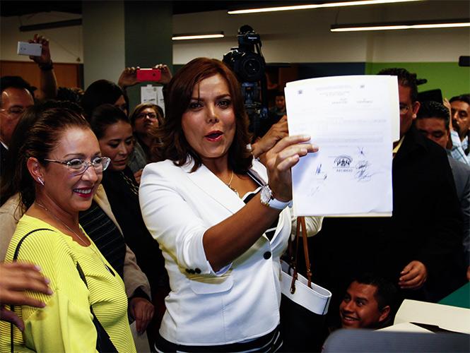 Diana Sánchez Barrios intentó hace tres años convertirse en diputada de la Asamblea Legislativa del Distrito Federal (ALDF), pero no tuvo suficiente apoyo.