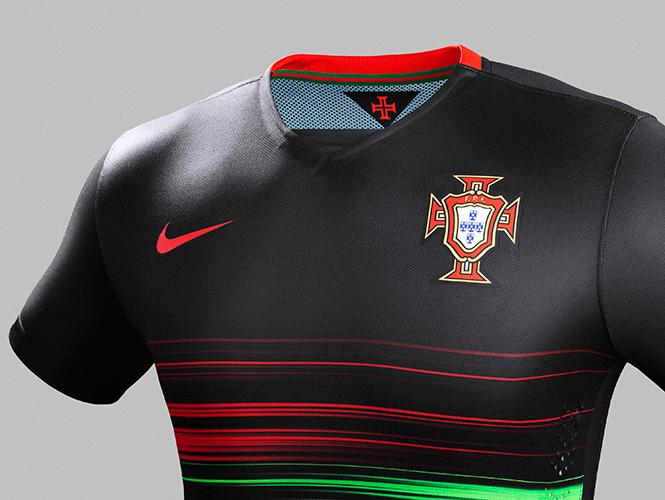 Armadura dinámica  Portugal presenta su nuevo uniforme 97fa293718f4b
