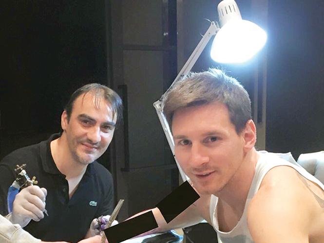 Roberto López, el artista de la piel de Messi
