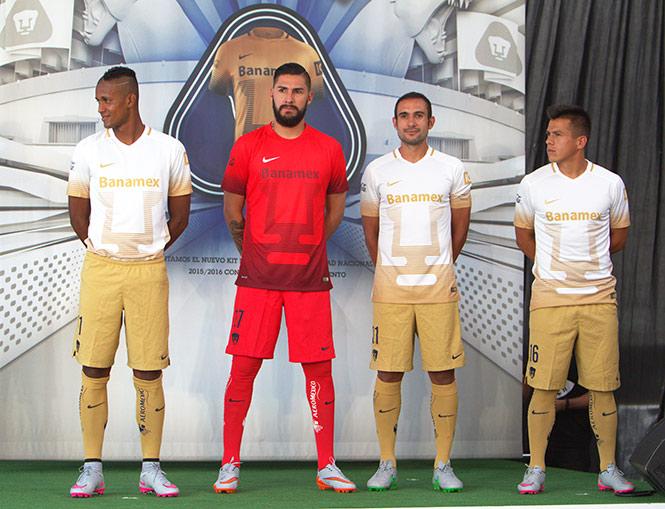 e7e35ab52ce34 Pumas luce nueva armadura para el Apertura 2015