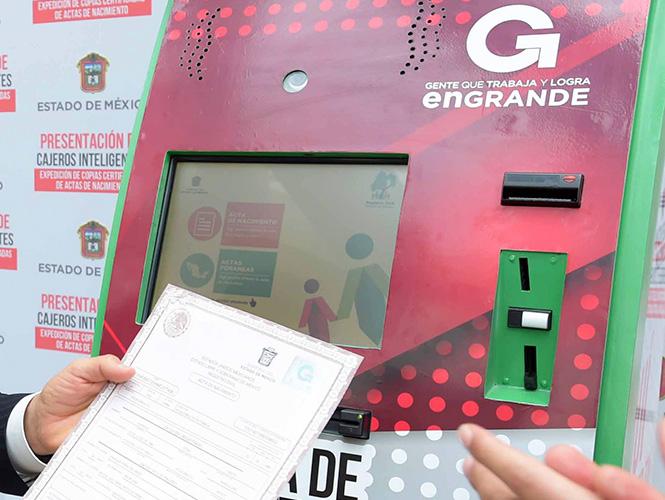 Edomex Instalará 250 Cajeros Para Trámites Del Registro Civil