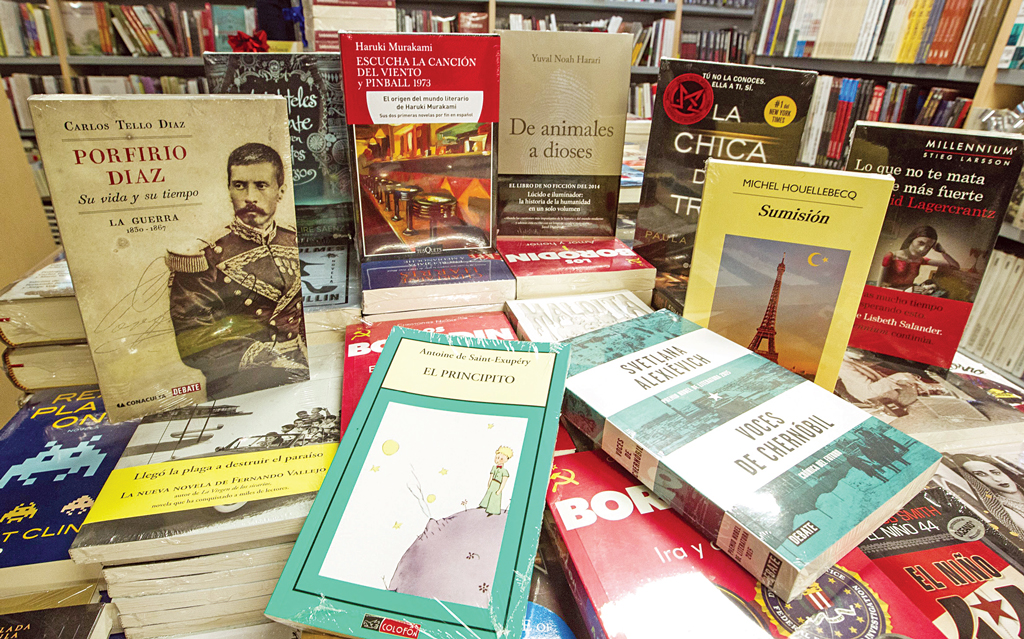 Los libros más vendidos del 2015