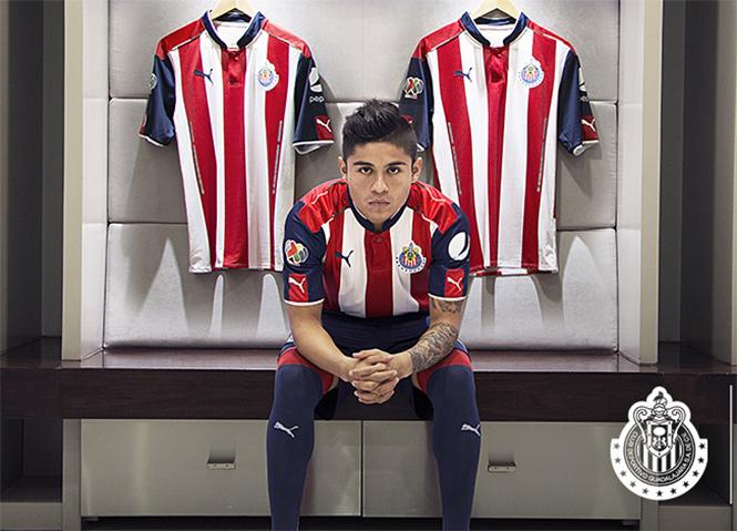 Chivas presenta su nueva piel  con franja puma f16cc08866ee8