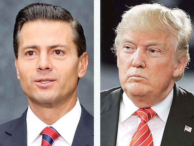 Hoy se reúnen Peña y Trump; aceptó invitación de la Presidencia de México