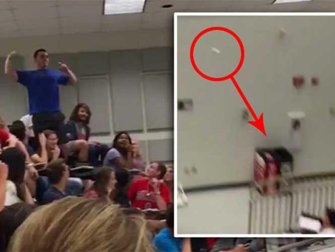 Un joven salvó a sus compañeros al demostrar una tremenda puntería