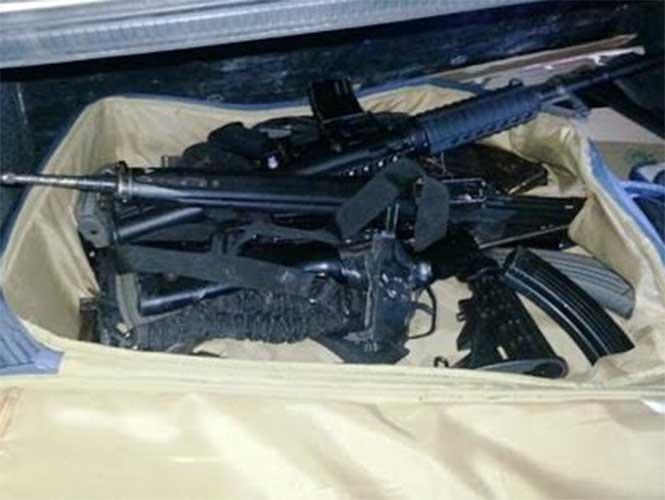Ejército y Policia Estatal aseguran armas y vehiculos en Altamira 1515627