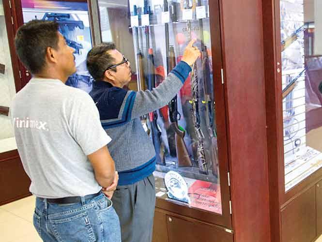 Corporaciones pierden 4 armas diarias. 1518498
