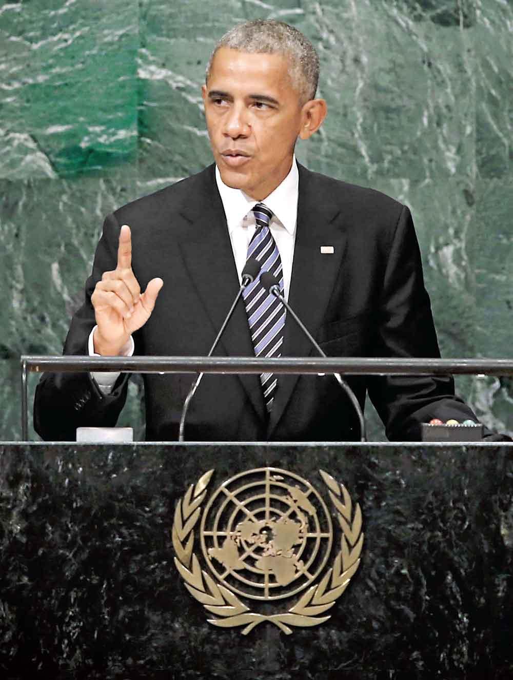 Hacer muros es aislarse: Obama; se despide de la ONU