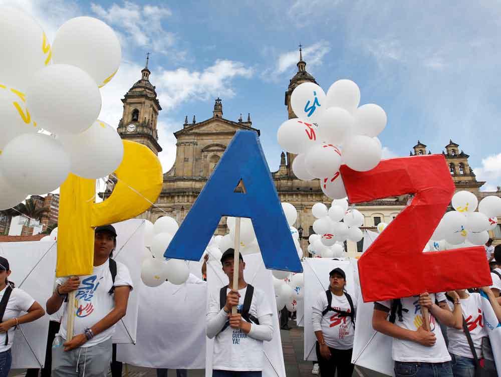Fotogalería: Colombia logra la Paz