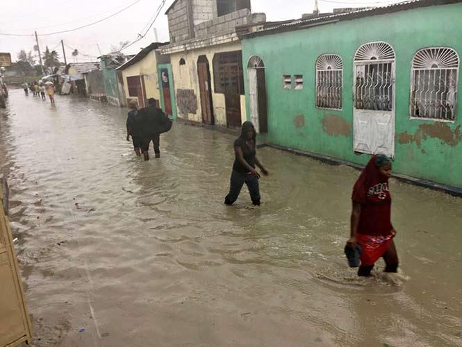 ?Matthew? tocó tierra al oeste de Haití