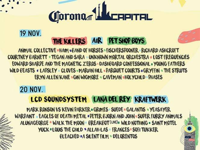 corona capital 2016 animal collective