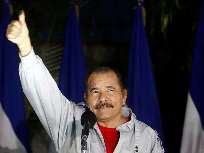 Daniel Ortega se lleva 72.5% de votos, dice recuento oficial