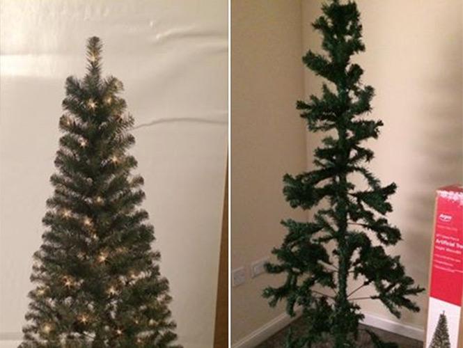 Como hacer un arbol de navidad mas frondoso
