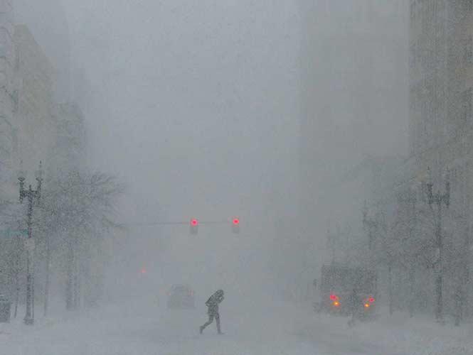 El noreste de Estados Unidos, en alerta por tormenta invernal