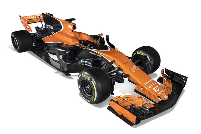 McLaren presenta su 'obra de arte': el MCL32