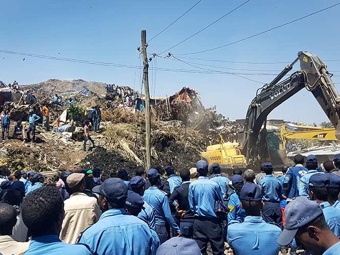 Al menos 30 muertos en deslizamiento de tierra en Etiopía — VENEZUELA