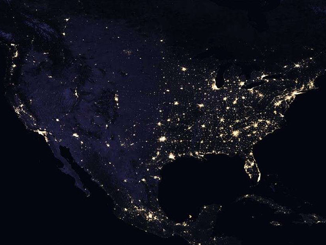Video Nasa Muestra Mapa Nocturno De La Tierra
