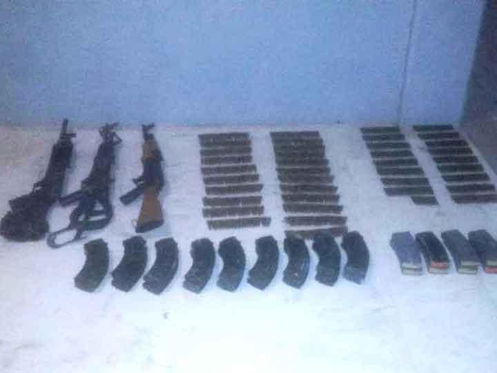 Ejército y Policia Estatal aseguran armas y vehiculos en Altamira 1689422