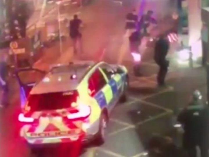 El momento en que la Policía británica mató a los terroristas
