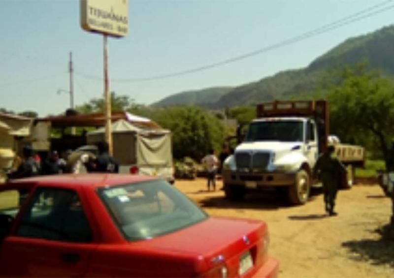 Asegura PGR siete mil litros de hidrocarburo en Oaxaca