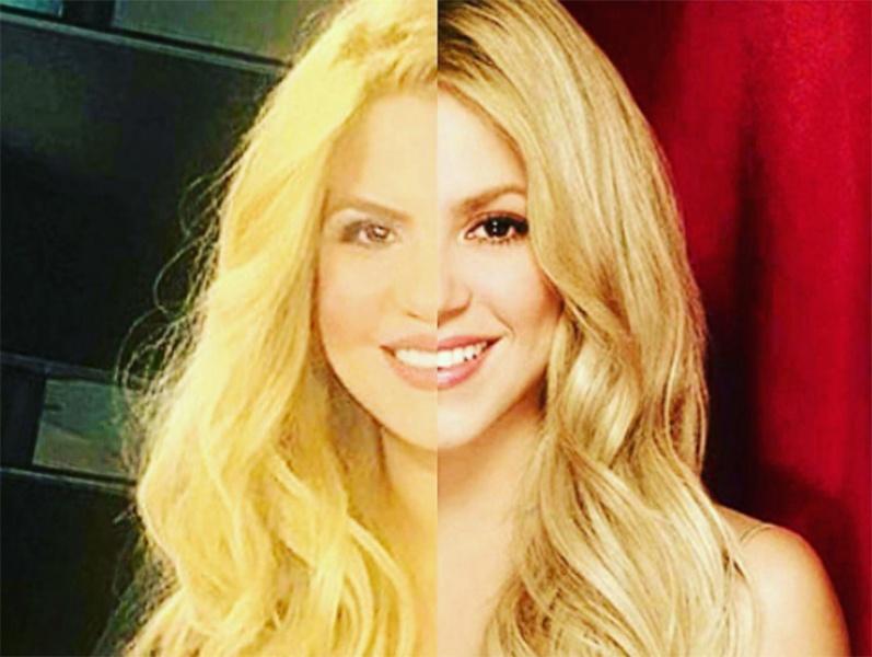 Ella es la doble de Shakira, hasta la verdadera cantante quedó asombrada