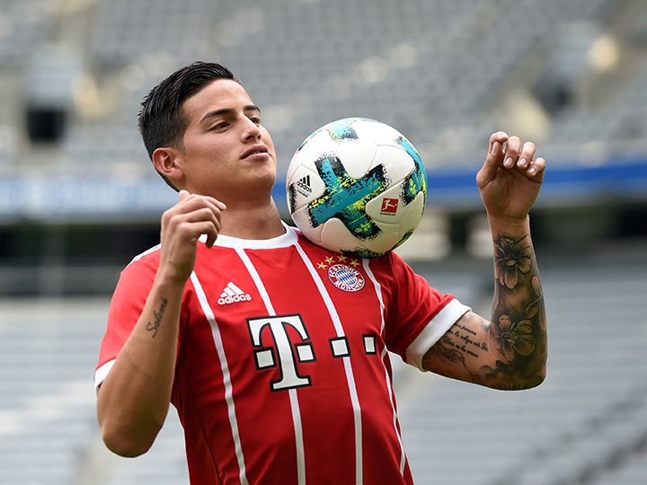 James buscará un puesto en el Bayern Múnich