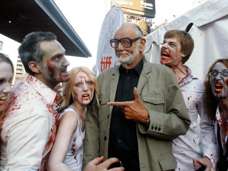 Murió George Romero, el padre del género zombie