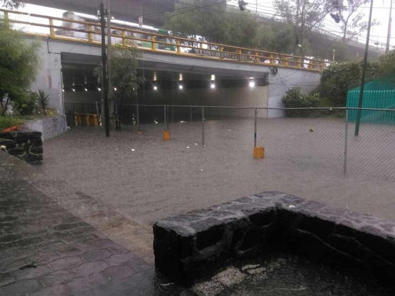 Activan alerta amarilla por lluvia en 11 delegaciones