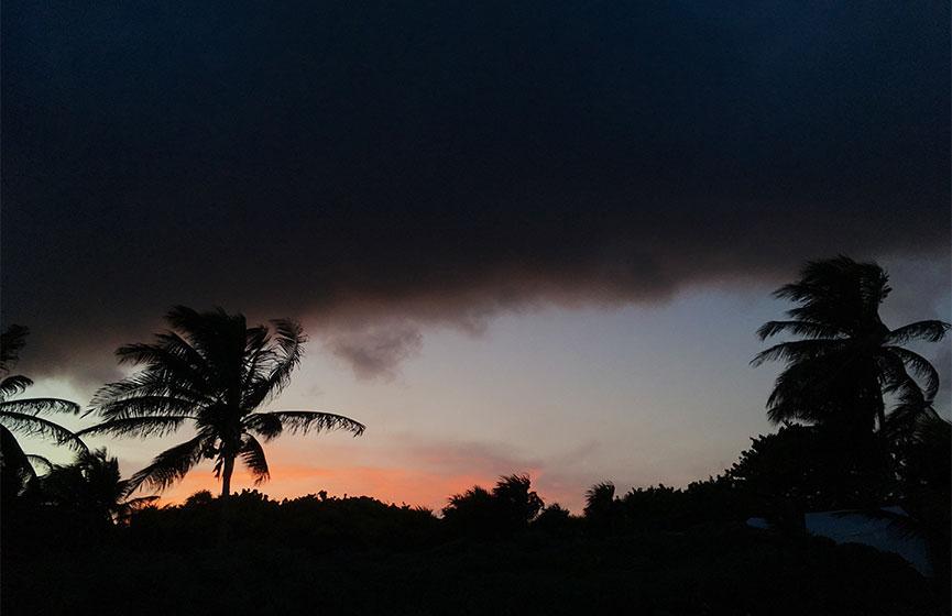 Se desarrolla la tormenta tropical