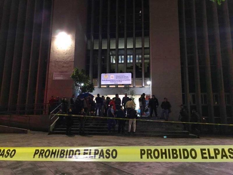 Balean a cuatro personas frente a Ministerio Público de la CDMX