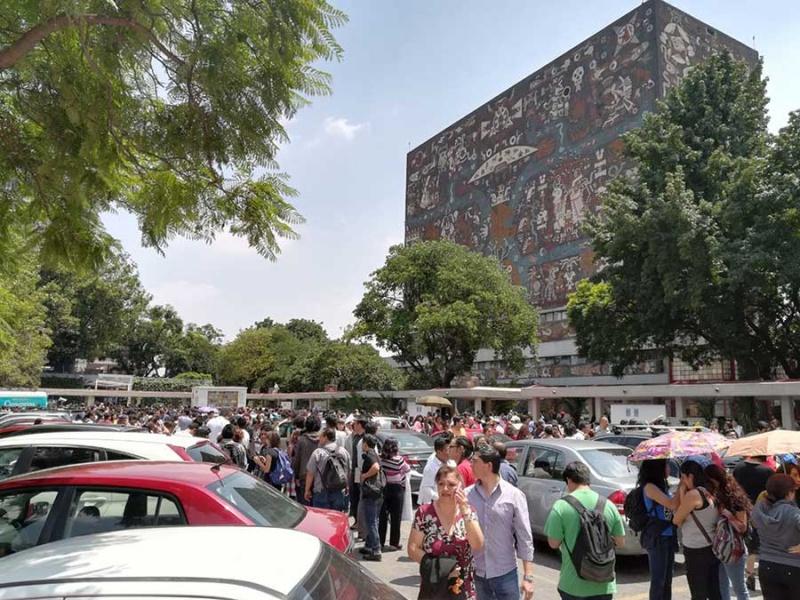 Integra UNAM brigadas de rescate; invita a unirse