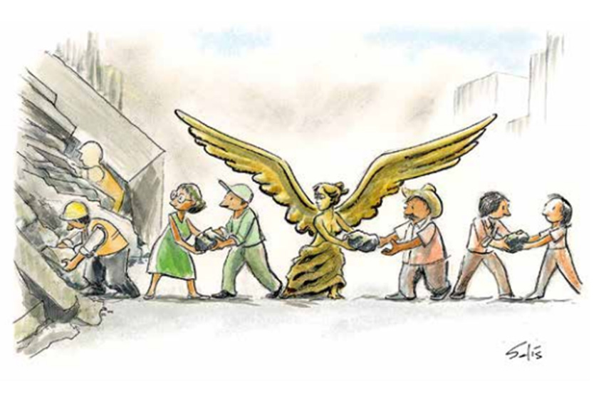 Ilustración Que Retrata A México Ya Dio La Vuelta Al Mundo