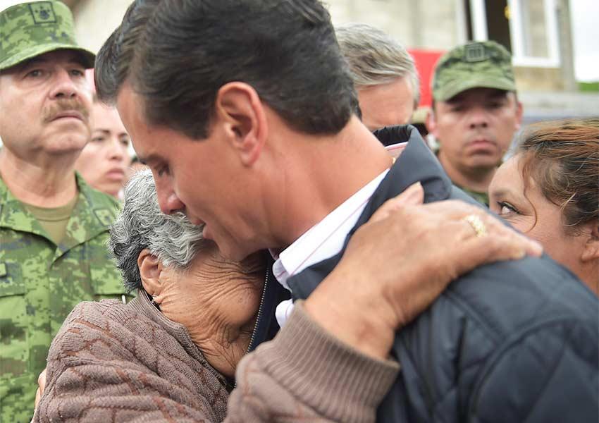 @EPN condena a quienes buscan desinformar en medio de tragedia