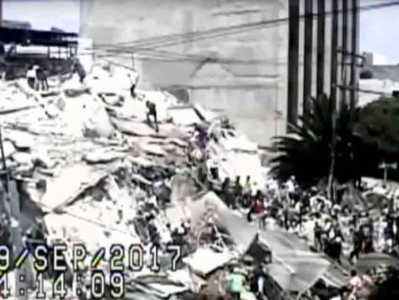 Así se derrumbaron edificios de la Roma y Condesa #VIDEO