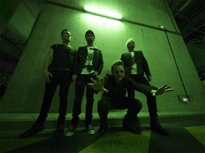 U2 publica imagen del Zócalo de la CDMX