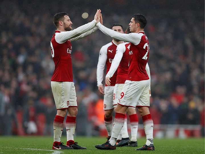 Arsenal no tuvo problemas con el Tottenham Hotspur