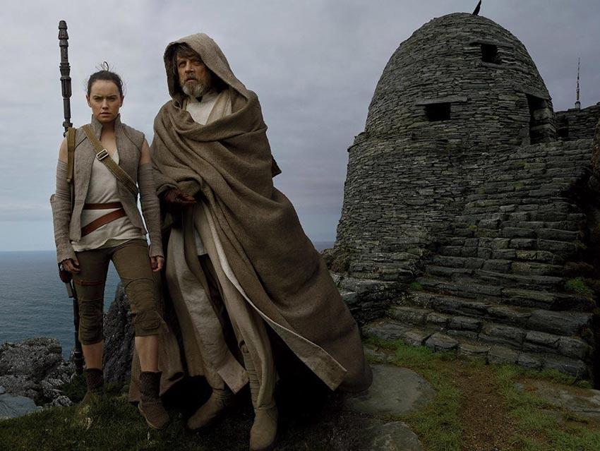 'Los Últimos Jedi' visitan México para premier de 'Star Wars'