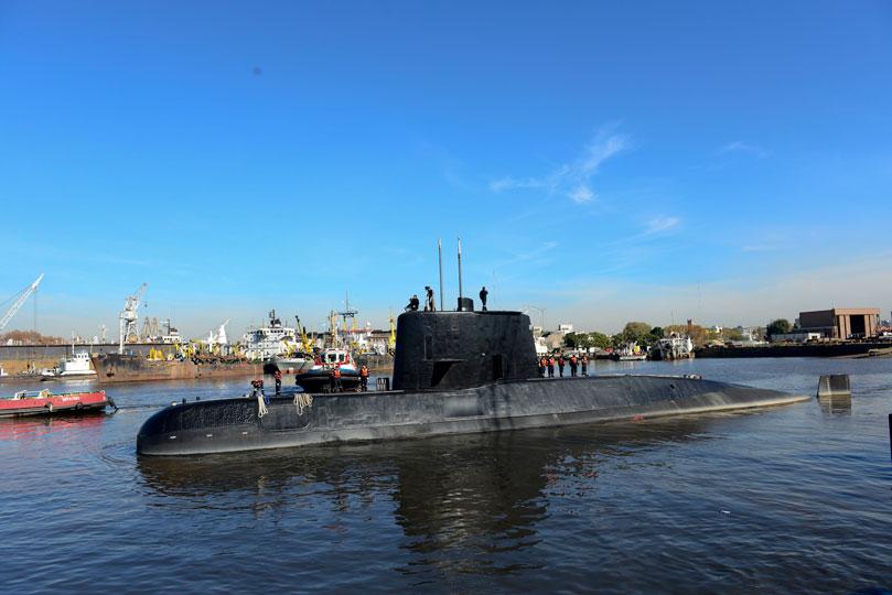 El ruido no corresponde a un submarino: Armada argentina