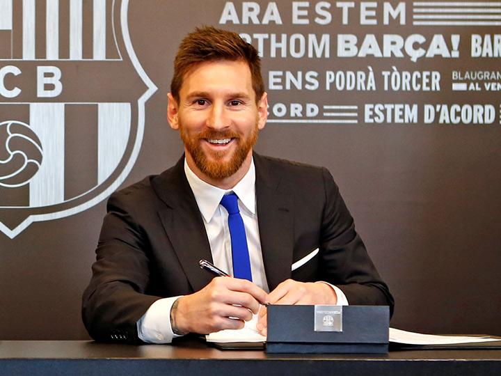 Messi renueva contrato con el Barça… ¡hasta 2021!
