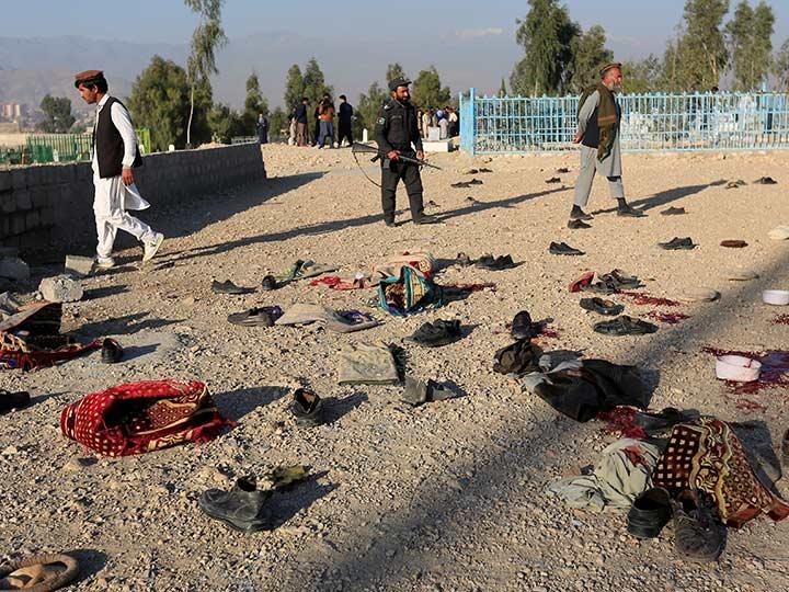 Vídeo: Ataque suicida en un funeral deja 15 muertos en Afganistán