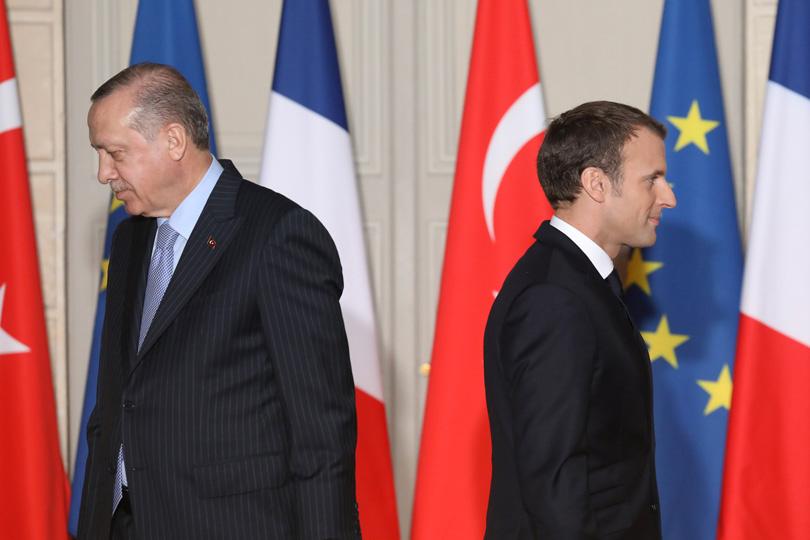Erdogan trata la situación actual con el presidente de Irán