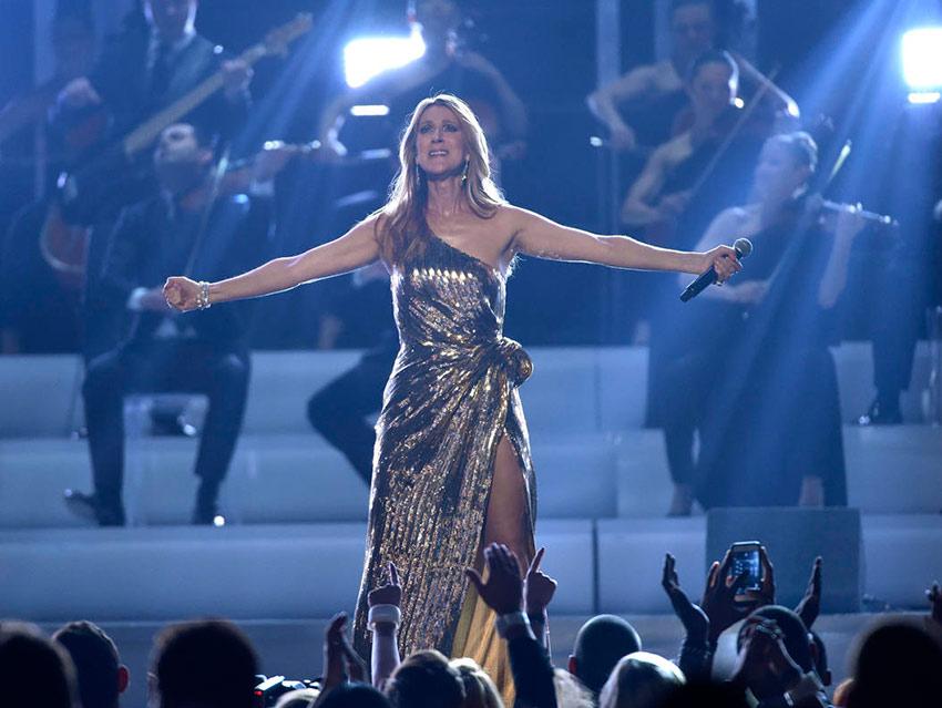 Celine Dion pierde la voz por un virus y cancela show
