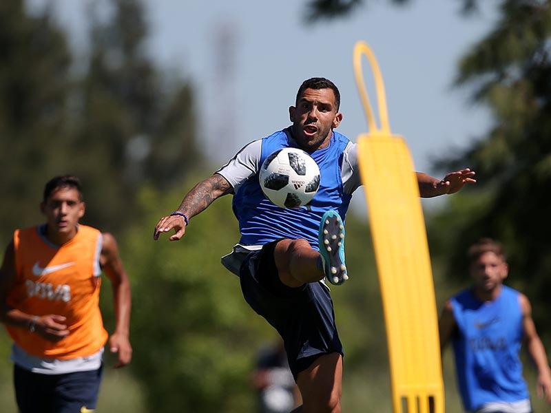 El primer gol de Tevez en su vuelta: en Fuerte Apache