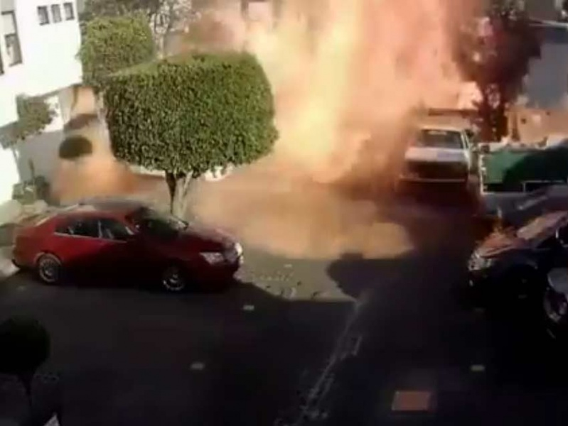 Tanque de gas explota por mal manejo en la CDMX