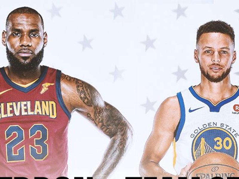 3a733dd36186 LeBron y Curry serán los capitanes del Juego de Estrellas