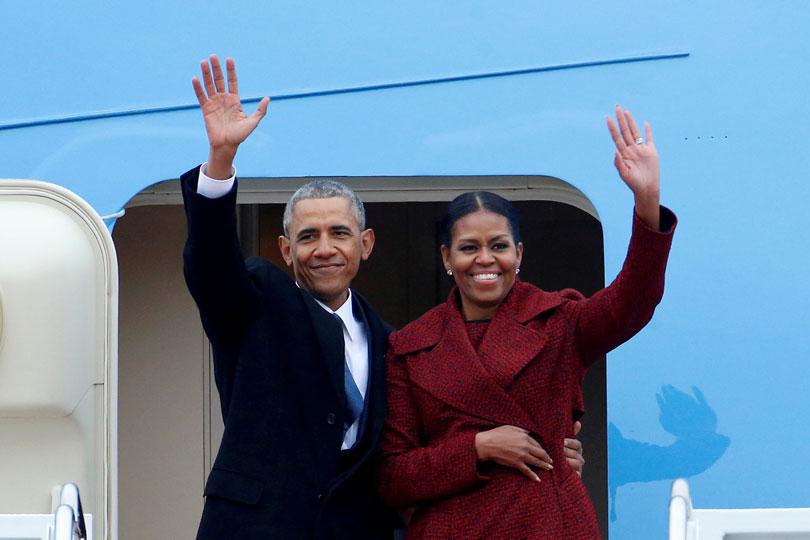 Barack y Michelle Obama producirán shows inspiradores para Netflix