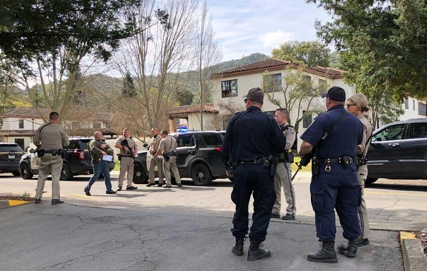 Reportan tiroteo y toma de rehenes en hogar de veteranos de California