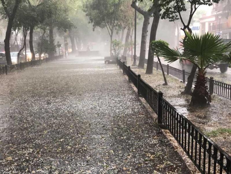 Reportan lluvia ligera en siete delegaciones de la CDMX