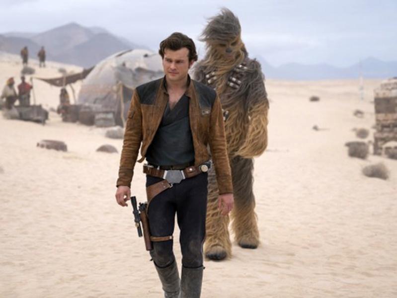 Una historia de Star Wars bajó sus ganancias 65% — Han Solo