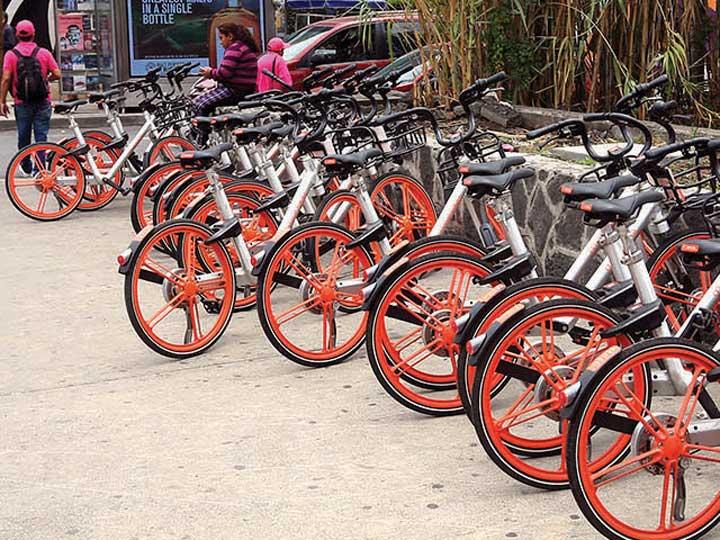 Roban al servicio de renta 'Mobike' 88% de sus bicicletas